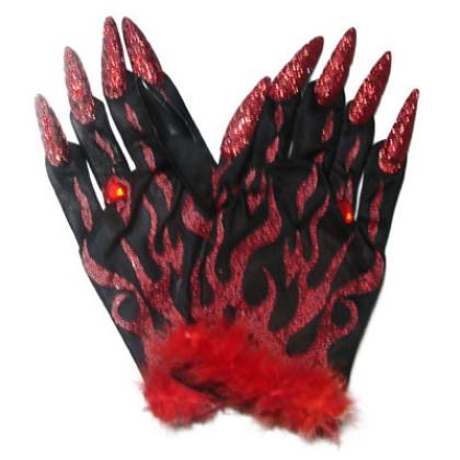 Bild von Handschuhe mit Nägeln
