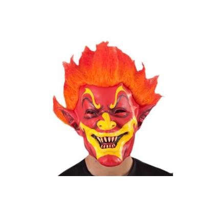 Feuermaske Clown rot