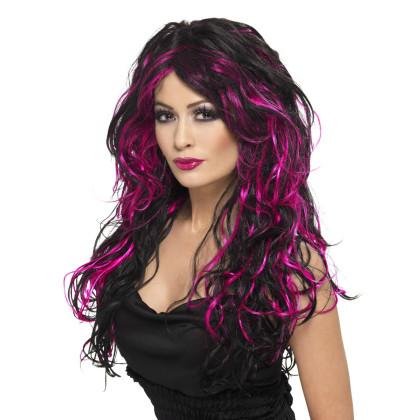 Gothica violett - schwarz