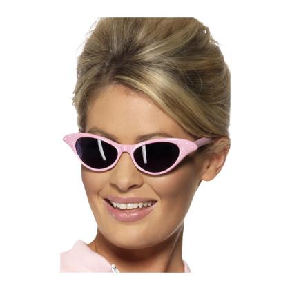 50er Brille rosa Flyaway