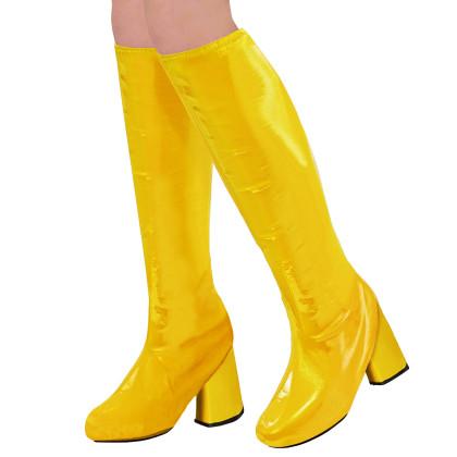 Stiefelstulpen gelb