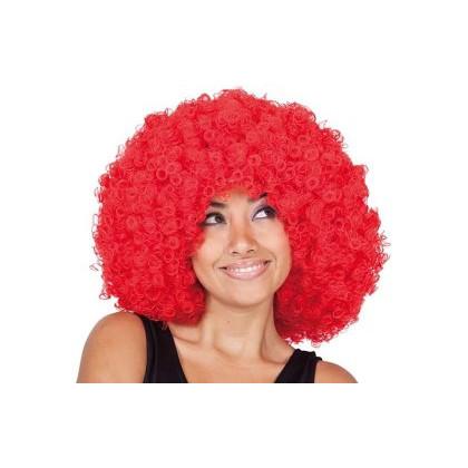 Krauskopf Afro Perücke rot