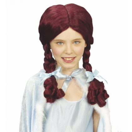 Märchenperücke für das Wunderland Mädchen