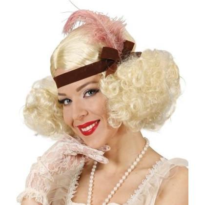 20er Perücke blond Marlene