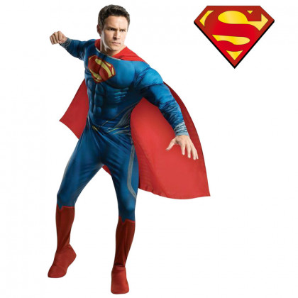 Superman Deluxe Gr. XL