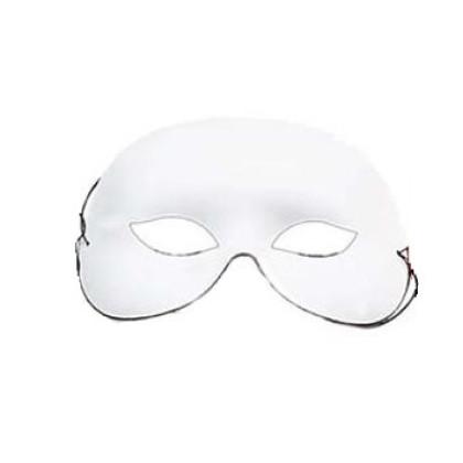 Domino weiß / Augenmaske