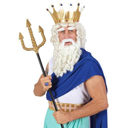Dreizack Griechischer Gott in gold