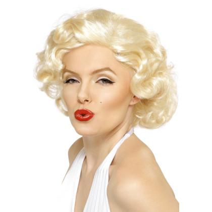 Marilyn Monroe Perücke weißblond Marylin