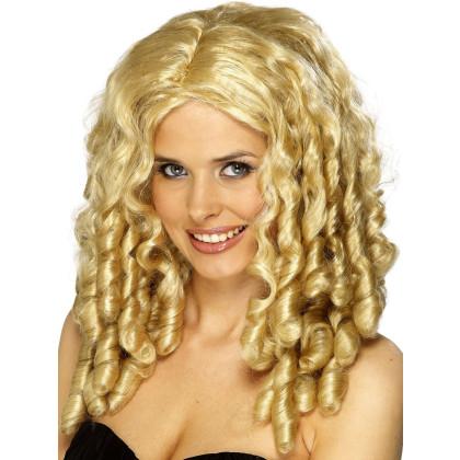 Korkenzieher Locken Perücke Blond