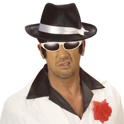 Spieler und Zocker Look mit Hut Gangster