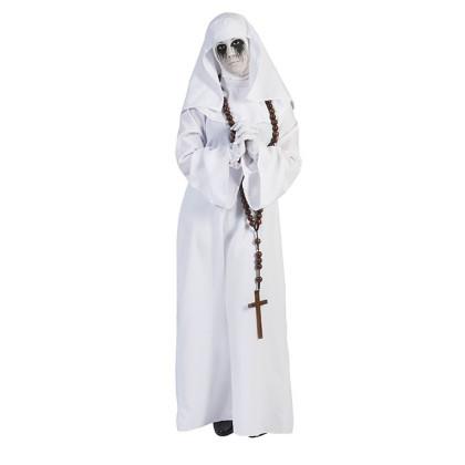 Geister Nonne - weiß