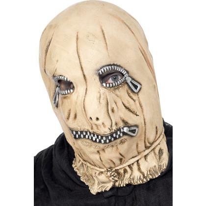 Reißverschluß Maske Halloween