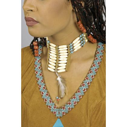 Damen Halsschmuck Indianerin Halskette authentisch