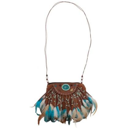 Indianerin Tasche Kostümzubehör