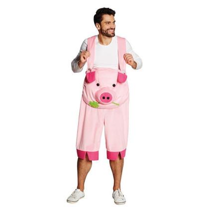 Latzhose Schwein