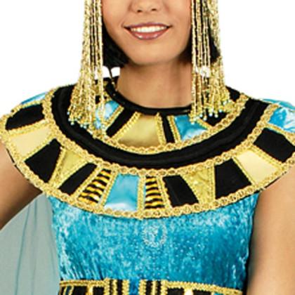 großer Schmuckkragen im Ägyptischen Stil für Cleopatra Kostüme