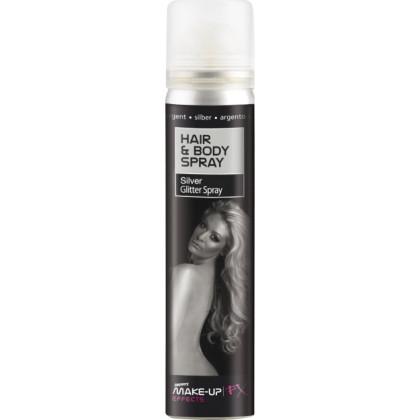 Köper / Haarspray Silber