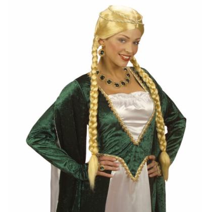 Mittelalter Frisur Zöpfe Rapunzel