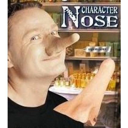 Aufklebare Nase Extralang