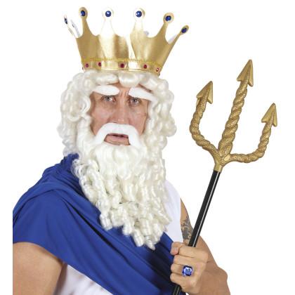 Poseidon - Neptun Meeres Gott Perücke