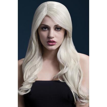Weiß Blond Frisur Filmstar Perücke