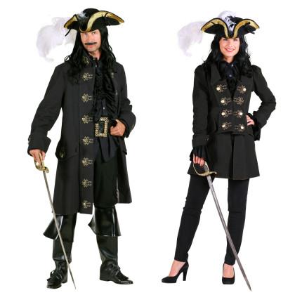 Filibuster - hochwertige Piratenjacke für Paare