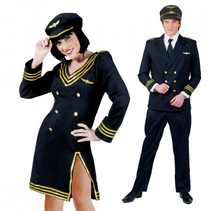 Piloten Paar Uniform