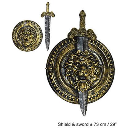 Schild Antik / Schwert