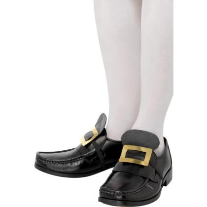 Schuhschnalle gold