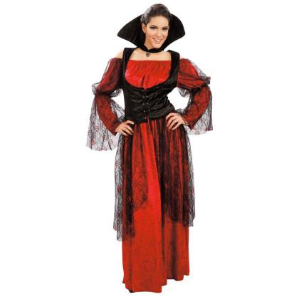 g nstiges vampirkost m f r damen in schwarz und rot. Black Bedroom Furniture Sets. Home Design Ideas