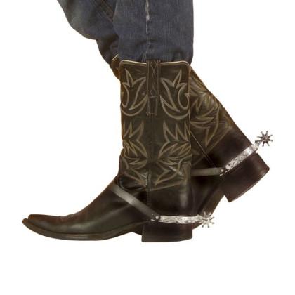 Sporen für Cowboy und Reiter Kostümierung