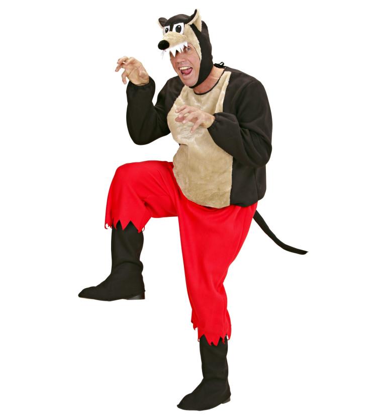 Marchenkostum Boser Wolf Fur Rotkappchen