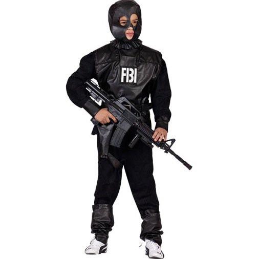 kinder fbi agenten kost m. Black Bedroom Furniture Sets. Home Design Ideas