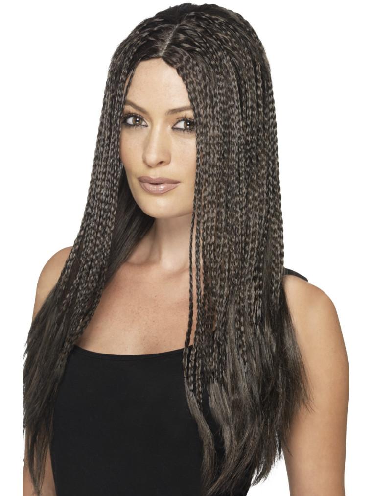 Perücke Braune Haare Mit Pagenschnitt Für Damen