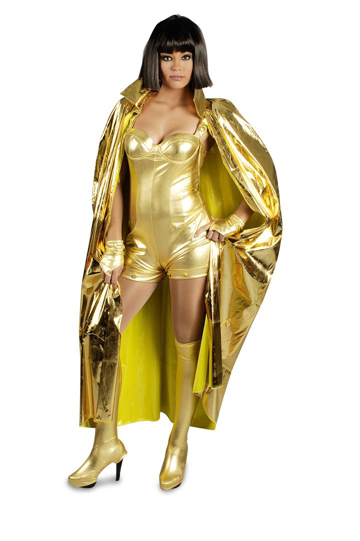 Goldener Umhang Fur Kostum Und Kostumideen 130cm Lang In Gold