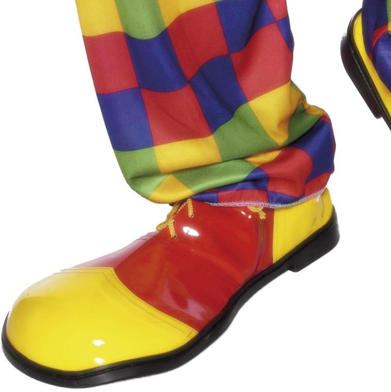 new product 5865e 5de5a Clown Schuhe gelb/rot