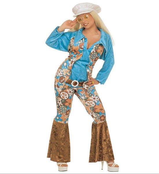 Hippie Flower Power Kostum Bis Damengrosse Xxl