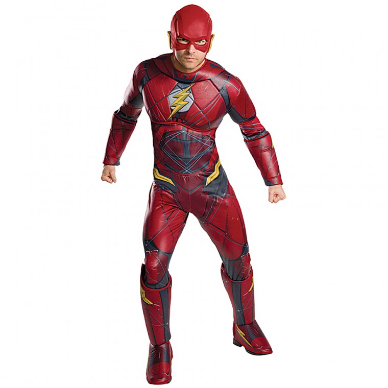 flash marvel superheld kostum