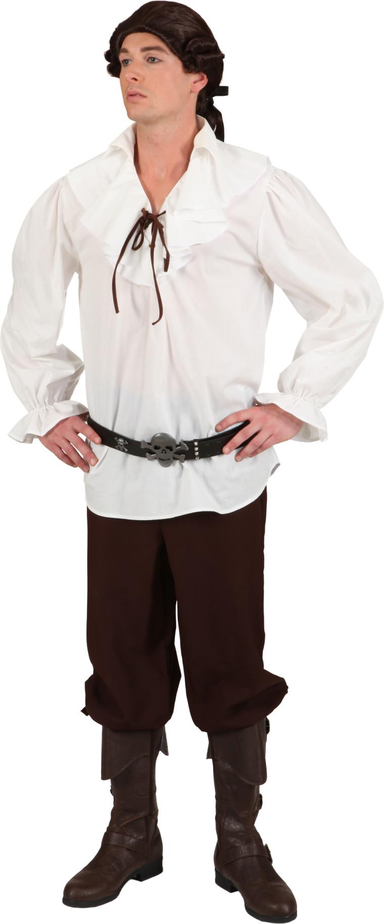 gewandhemd f r herren passend historische verkleidung. Black Bedroom Furniture Sets. Home Design Ideas