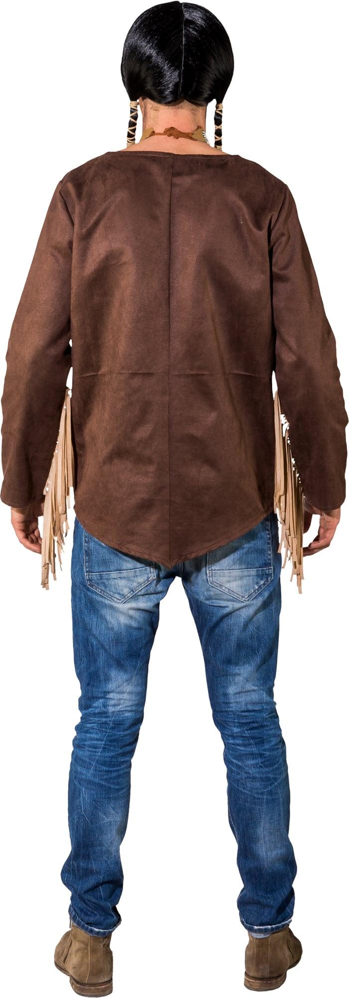 indianerhemd indianer hemd oberteil f r herren. Black Bedroom Furniture Sets. Home Design Ideas