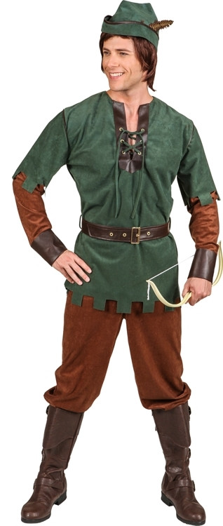 Robin Hood Kostum Komplett Mit Mutze