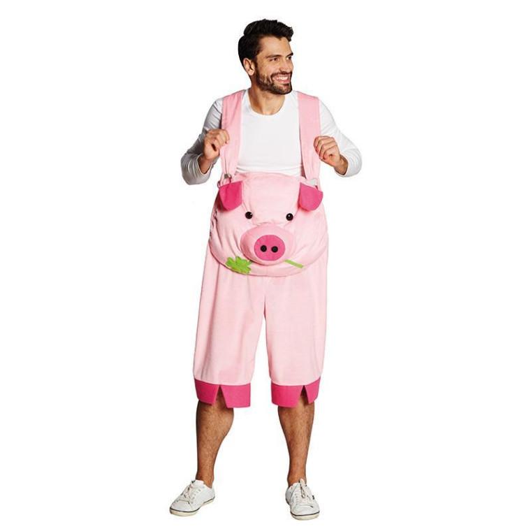 Schweinskostüm Ohren,Nase,Ringelschwanz,Fliege Piggy