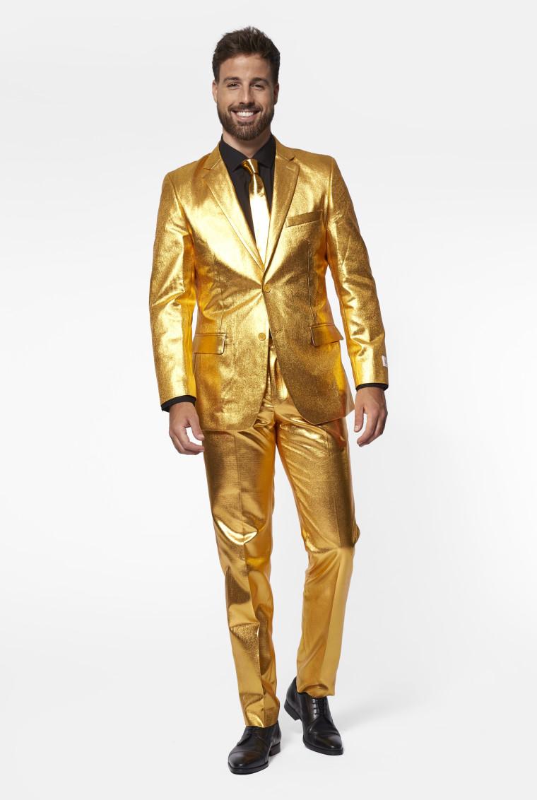 Anzug Gold