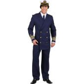 Kapitänsjacke blau