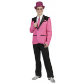 Big Band Retro Show Jacke für Herren in rosa - pink