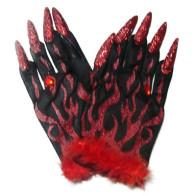 Handschuhe mit Nägel