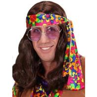 Hippieperücke braun