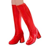 Stiefelstulpen rot