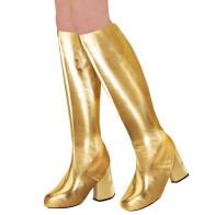 Stiefelstulpen gold