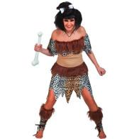Höhlenfrau 3-Teilig